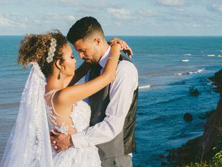 O casamento de Camila e Wagner