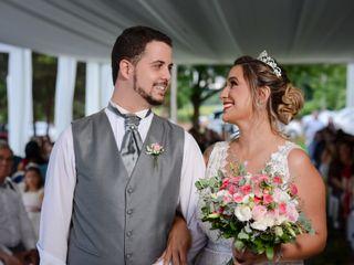 O casamento de Denise e Vicente