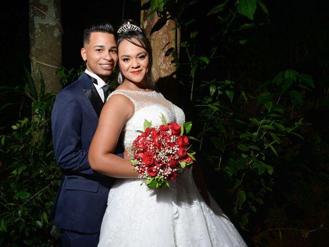 O casamento de Camila e Cleber