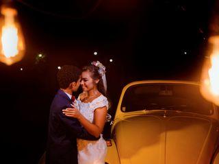 O casamento de Brenda e André