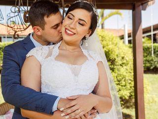 O casamento de Sthefany e Robert