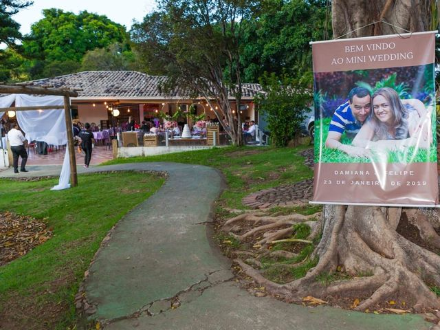 O casamento de Felipe e Damiana em Contagem, Minas Gerais 2
