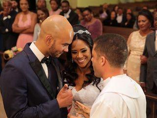 O casamento de Lourani e Clever 1