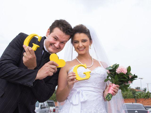 O casamento de Graziele e Gideon