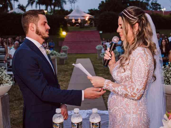 O casamento de Izabela e Rafael