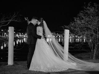 O casamento de Simone e Leonardo