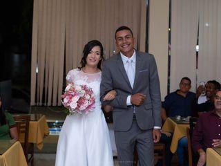 O casamento de Angélica e Moisés