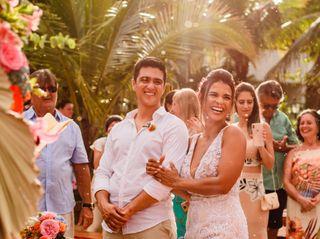 O casamento de Denisia e Diego