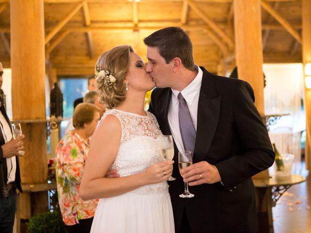 O casamento de Evelyn e Wagner