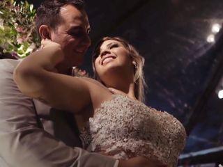 O casamento de Letícia e Ronaldo