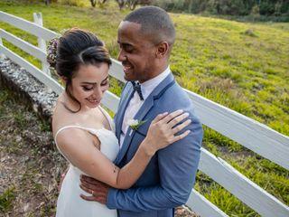 O casamento de Juliana e André