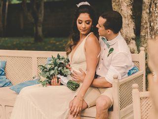 O casamento de Luana e Glauber
