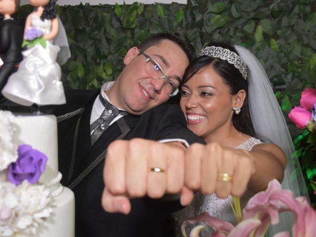 O casamento de Solange e Bruno