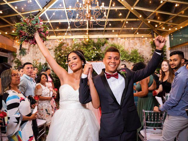 O casamento de Eduarda e Chris