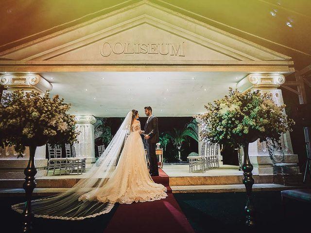 O casamento de Carolina e Alberto
