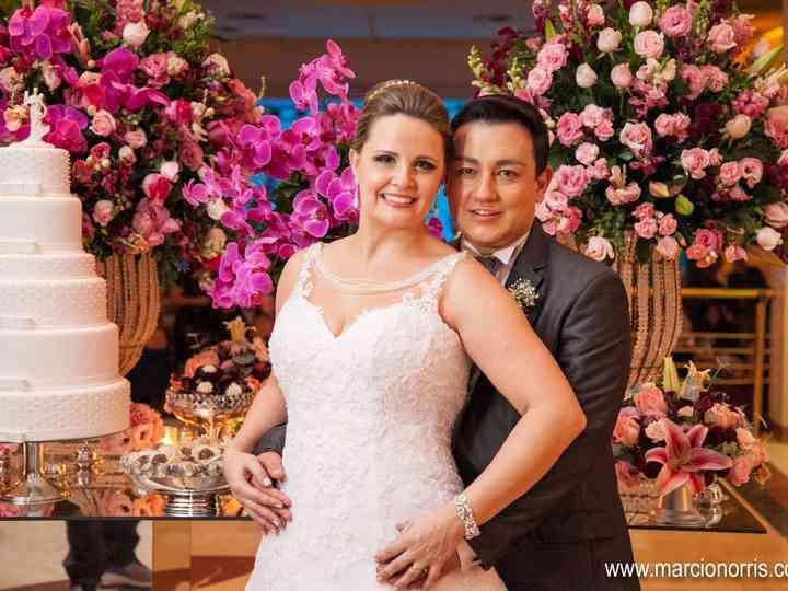 O casamento de Kelly e Ricardo