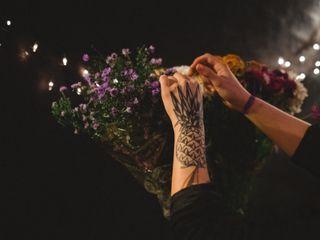 O casamento de Flora e Thivá 1
