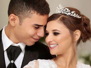 O casamento de Elizabeth e Evandro