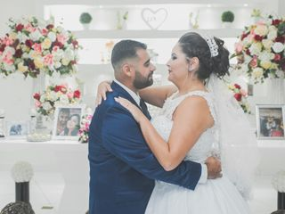 O casamento de Pamela e Gabriel