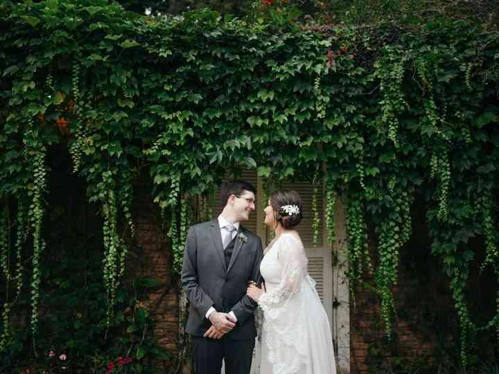 O casamento de Pamela e Rodrigo
