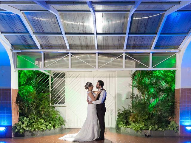 O casamento de Aline e Paulinho