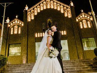 O casamento de Camila e Vinícius