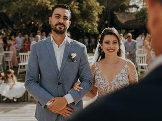 O casamento de Poliana e Ramon