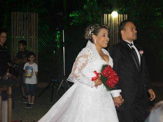O casamento de Erica e Cassiano