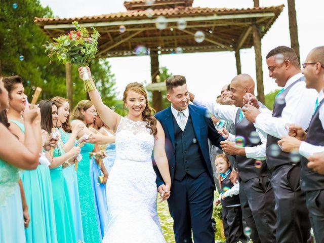 O casamento de Daniele e Bruno