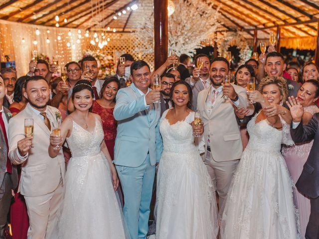 O casamento de Denyse, Diana e Fernanda e Matheus, Jaderson e Geovan