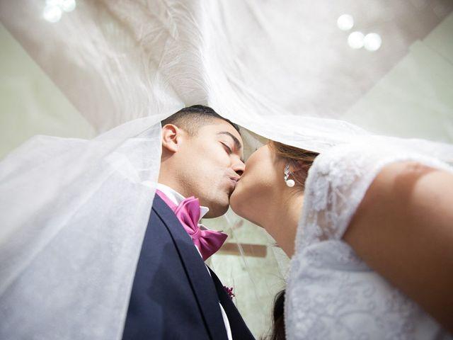 O casamento de Érika e Marcelo