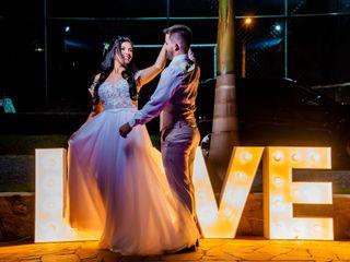 O casamento de Karine e Victor
