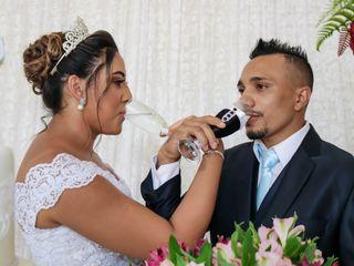 O casamento de Emanuela e Jonathan