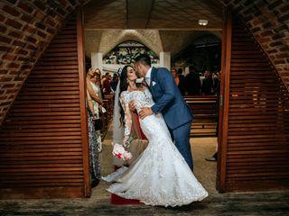O casamento de Daniela e Paulo