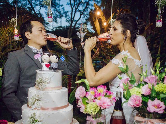 O casamento de Priscila e Adilson