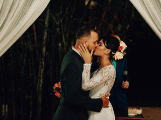 O casamento de Bia e Neto