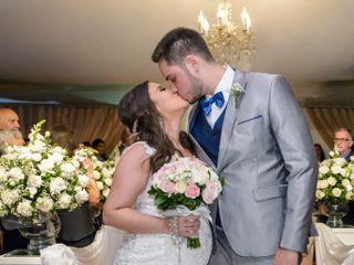 O casamento de Camilla e Rodrigo