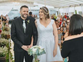 O casamento de Paty  e Wendel