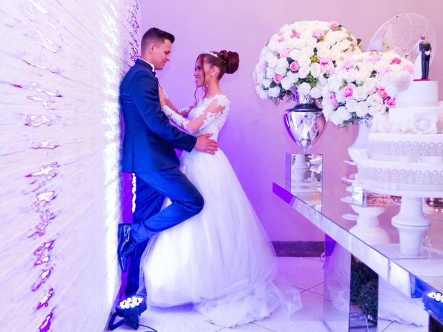 O casamento de Daniele e Romário