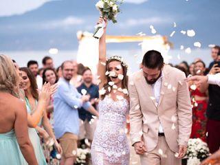 O casamento de Tatiane e Marco