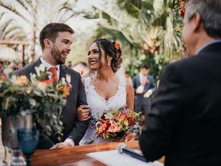 O casamento de Viviane e Johannes