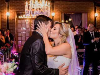 O casamento de Alessandra e Elmo