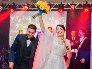 O casamento de Aline e Keisson