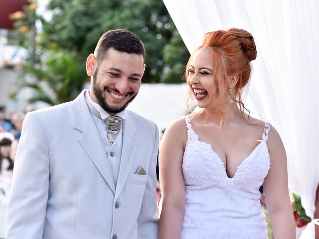 O casamento de Viviane e Luan