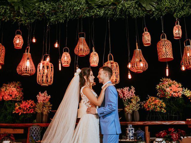 O casamento de Larissa e Claudio