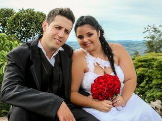 O casamento de Giovana e David