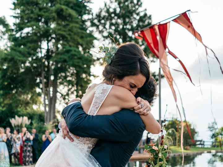 O casamento de Adriana e André