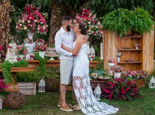 O casamento de Thaise e Junior