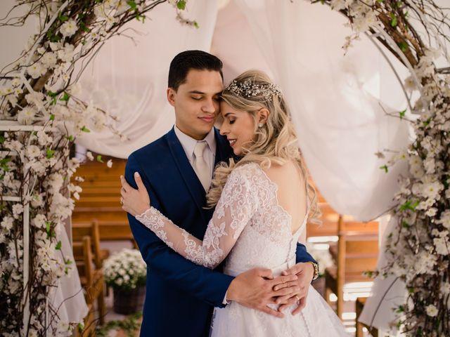 O casamento de Adriana e Victor