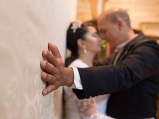 O casamento de Solange e Anderson